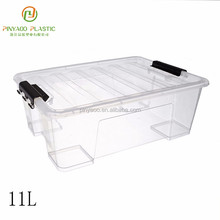 Multi purpose new product stackable useful plastic storage box for clothes