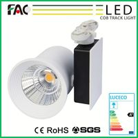 Top Reliable Performance Black Low decay narrow focus factory direct led commercial tracking lighting