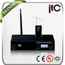 ITC T-531C 1 Channel UHF Digital Smallest Wireless Microphone