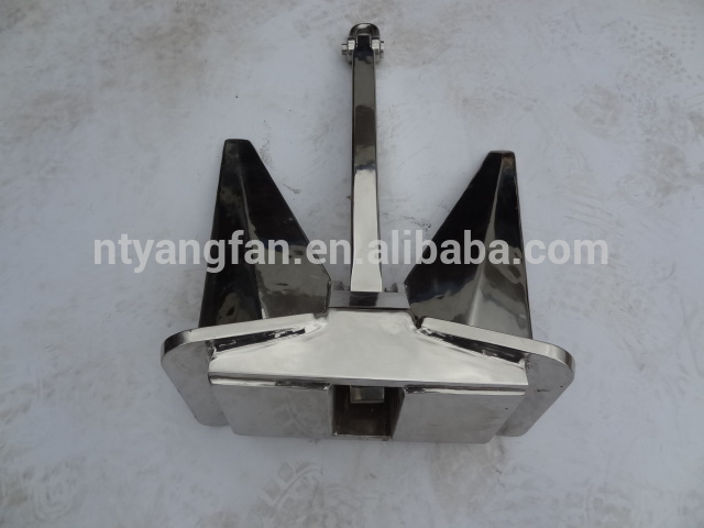 China manufacturer Great Stability U.S. stockless navy marine anchor