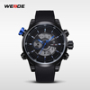 WEIDE Sport Band Watch Wrist Watch Collection PU Wholesale Price Men Watch Alibaba Express