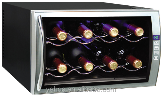 BW-25D2 thermoelectrical wine cooler 8 bottles