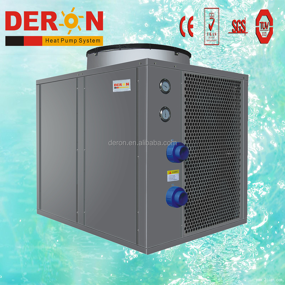 Heat pump water heater swimming pool pump solar hot water heater r410a refrigerant r407c r417a copeland compressor