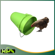 HPS New Product Plastic bucket pet water fountain for chicken fence