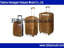 manufacture suitcase plastic injection mold