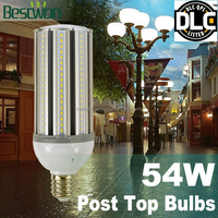 UL DLC 27w 36w 45w 54w LED corn light led street bulb for airport