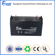 Low price emergency light 12v 120ah battery from China manufacturer
