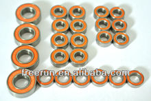 High Performance CEN MATRIX C-1 BUGGY steel bearing kits with different rubber seal color
