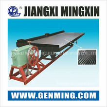 Large capacity Wilfley mining recovery shaking table for gold, tungsten,tin ore