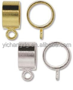 High Polished Pendant Slides Clasp in Stainless Steel