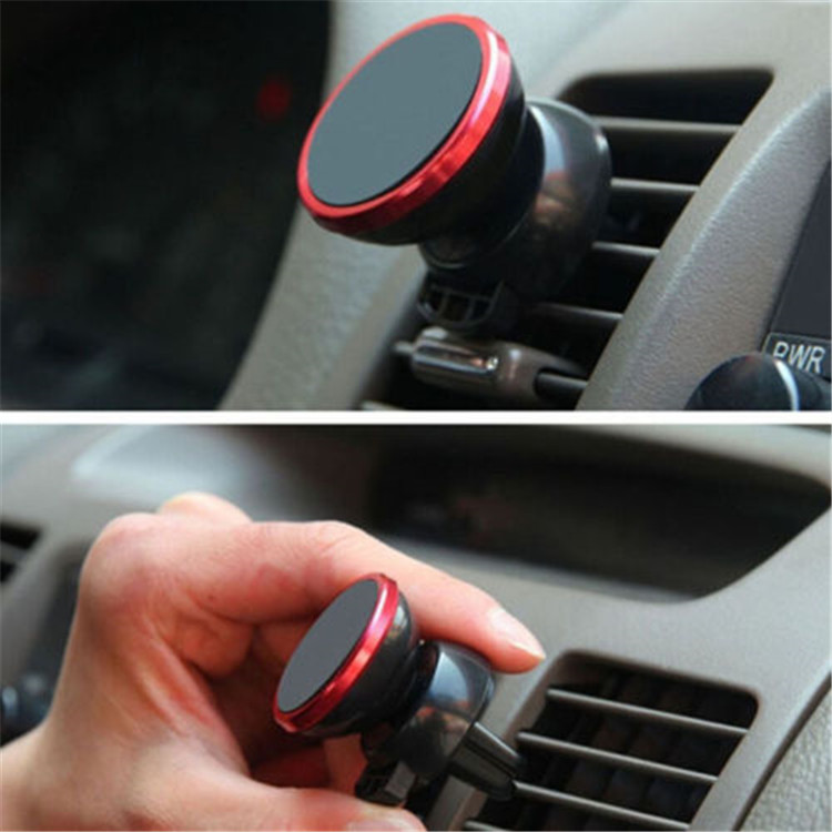 wholesale cheap China 360 universal magnetic vehicle bracket Cradle air vent phone holder mount for iphone for Samsung