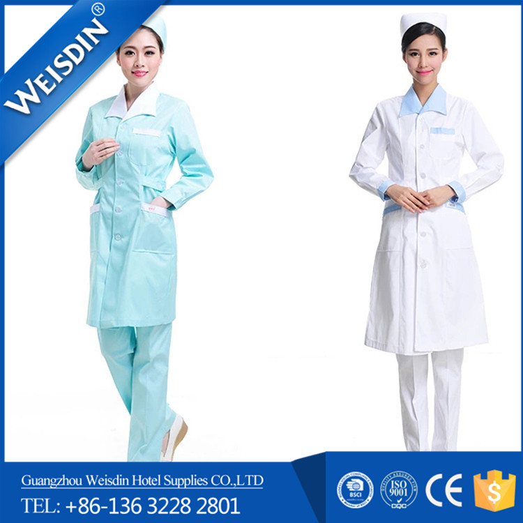 Promotional cotton polyester/ rayon staff work medical uniforms for nurses