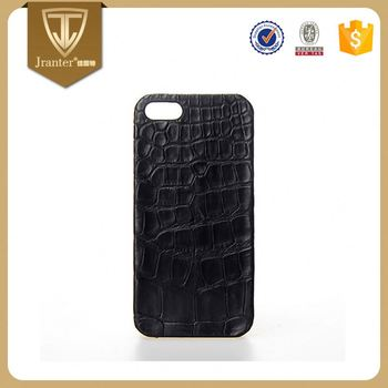 OEM Leather Mobile Phone Case Supplier, ODM Cell Crocodile Leather Phone Case Cover