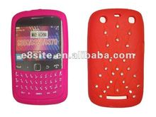 Cell Phone Silicone Cover With Keypad For BlackBerry 9360 9350 9370