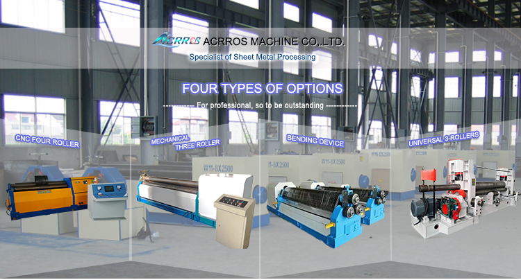 Steel Metal Sheet Maquina Roladora/Hydraulic CNC Rolling Machine/Steel Metal Plate Bending Machine