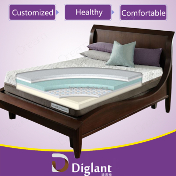 Diglant Sleep Better Memory Foam Quilted Hypoallergenic Mattress