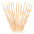 Natural Disposable Wooden Toothpick With Plastic Container