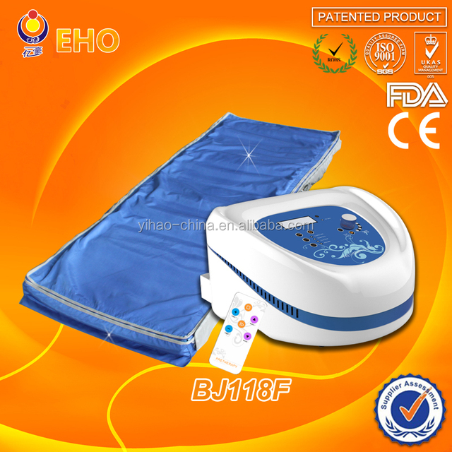 infrared heated air pressure massage therapy machine