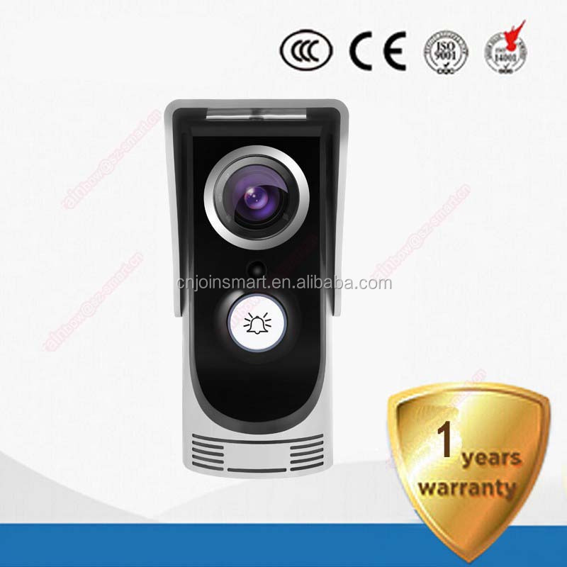 Cheap smart home wifi video doorphone camera intercom/CJDB-1 wifi doorbell