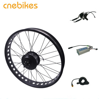 cnebikes 36v 500w 48v 750w H06 geared electric hub motor fat tire electric bike kit
