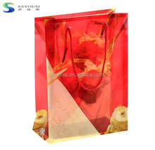 alibaba china factory price paper pvc material advertisement bag