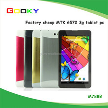 Android smart phone 3G tablet 7 inch dual sim made in china