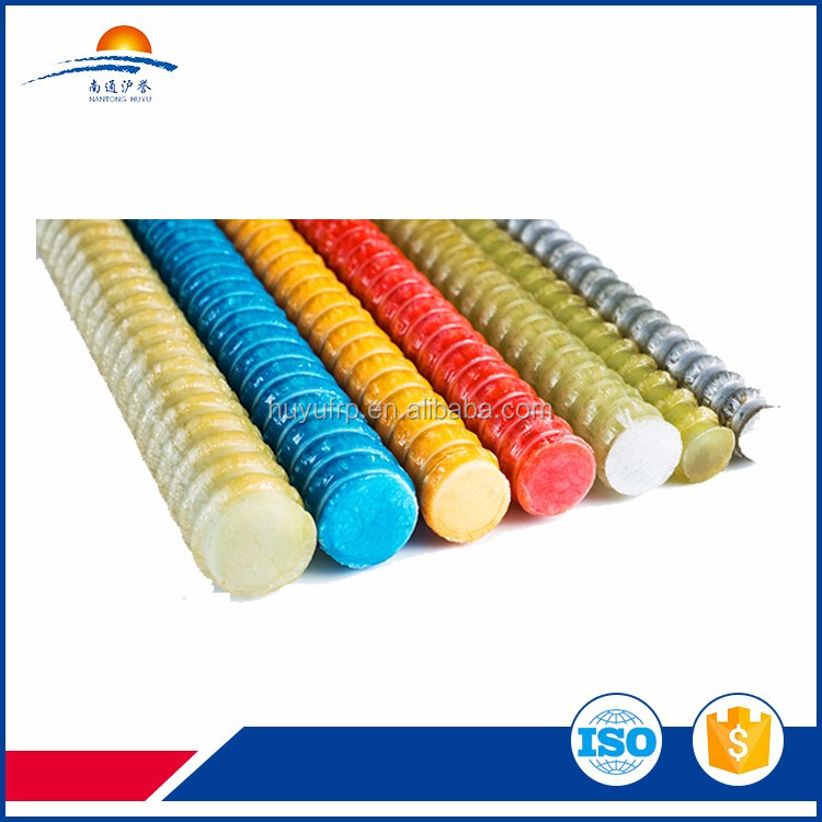 Fiberglass rock drilling rods in Mining