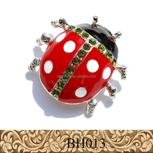 Fancylove Branded Jewelry red color lovely ladybird ladybug animal brooch