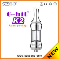 2014 newest atomizer with best price Seego G-hit K2 buy glass pipes paypal