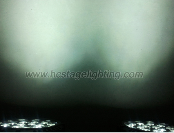 waterproof led par can lights 18*12W 6in1 RGBWA+UV IP65 led par 64