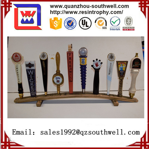 2017 Custom resin bar beer tap handles