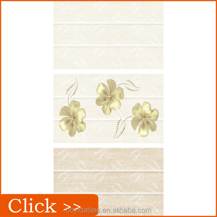 Beautiful Flowers Patterns of Bathroom Photos Ceramic Wall Tiles