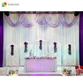 white backdrop curtain photography stand for wedding decoration