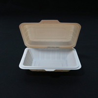 PET/PP disposable sandwich/cake plastic food container/box/packaging 600ml