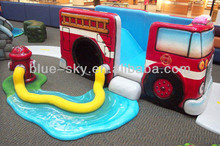 Fire Fighting Truck Theme Indoor &Outdoor Playground for Preschool Children