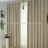 PASS NFPA 701 TEST 100% polyester 280cm width blackout fabric American design Flame retardant curtain
