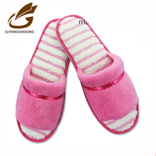 wholesale slippers fleece man bedroom floor slippers