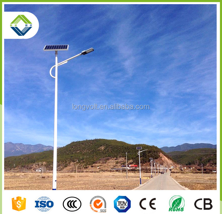 2017 led ip68 solar panel street led light 30w with lithium battery