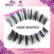 Hot Arrival Dense 100 Handmade Human Hair False Eyelash - Red Cherry