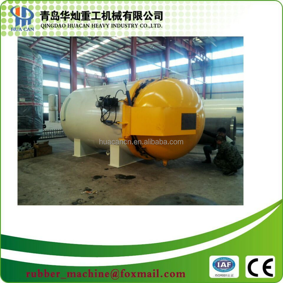 Full automatic college research autoclave for composite of carbon fiber epoxy