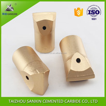 Factory make diameter 20-60mm chisel tungsten carbide drill bits for rock drilling