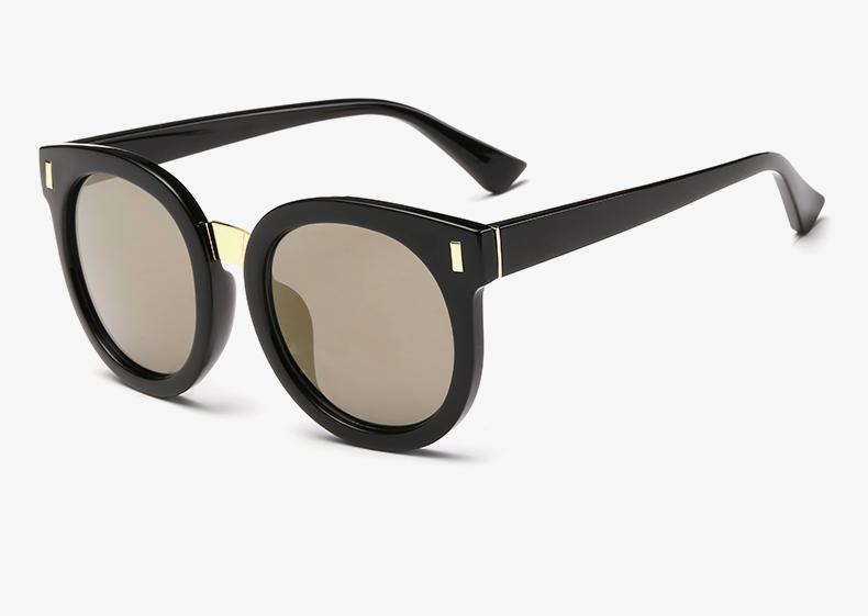 Luxury Round Sunglasses Women Brand Designer 2018 Retro Sunglass Driving Sun Glasses For Women Lady Men Female Sunglass Mirror