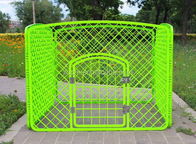 plastic pet kennel,Indoor dog run/plastic dog fence