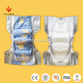 Cloth-like back sheet air permeability absorbent cotton baby diaper product