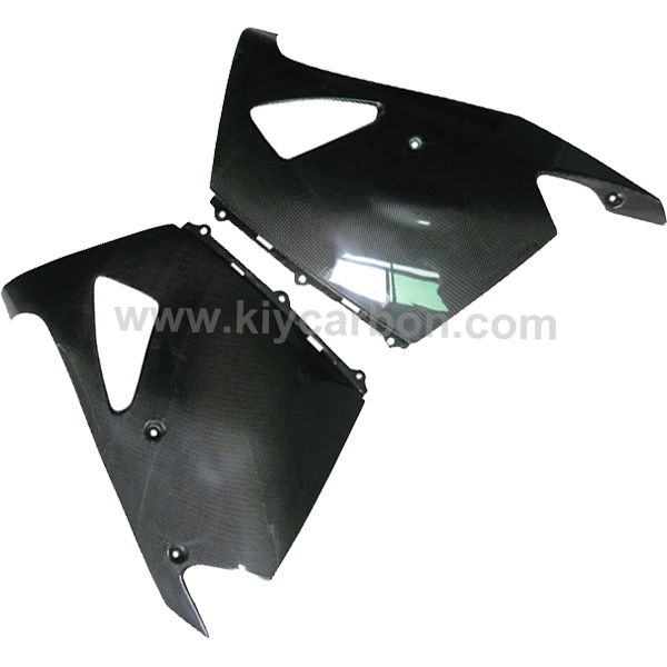 Carbon fiber motorcycle lower fairings for Kawasaki ZX14