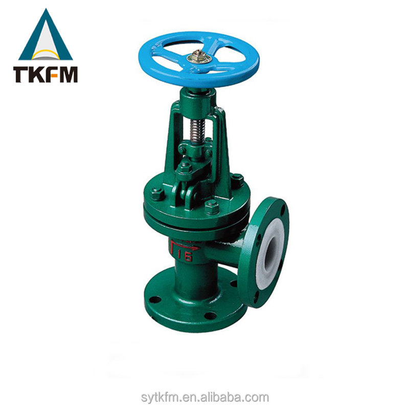 2017 wanted TKFM flange harga stainless steel 316 angle type globe valve dn15 dn20 dn25