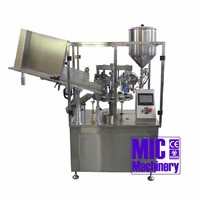 MIC-L60 Easy Operate Automatic 80bph Metal Tube Hand Cream Filling Sealing Machine