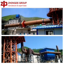 Zhongde Bauxite Rotary Kiln, Cement Rotary Kiln, Building Material and Limestone/Cement Rotary Kiln