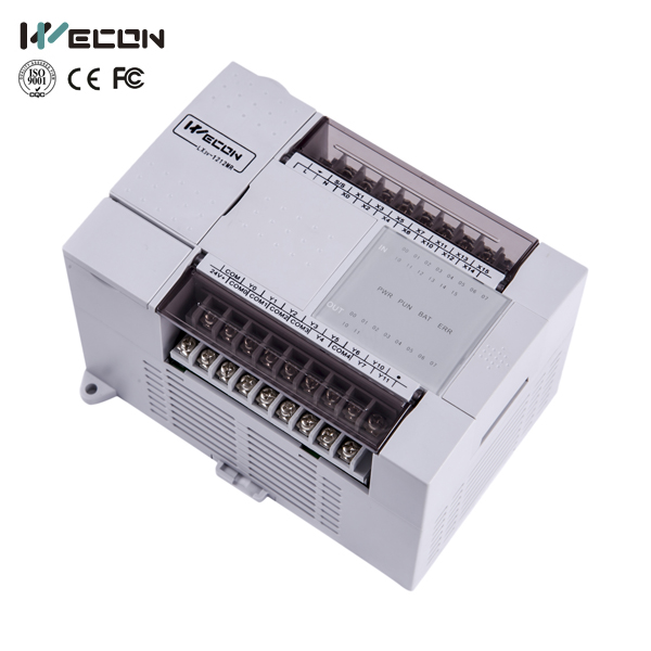 LX3V-1412MT4H-A 26 points wecon PLC apply in injection molding machine ,compete with plc omron
