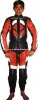 Leather Motorbike Suit,Motorcycle Leather Racing Suit,Biker Leather Suit